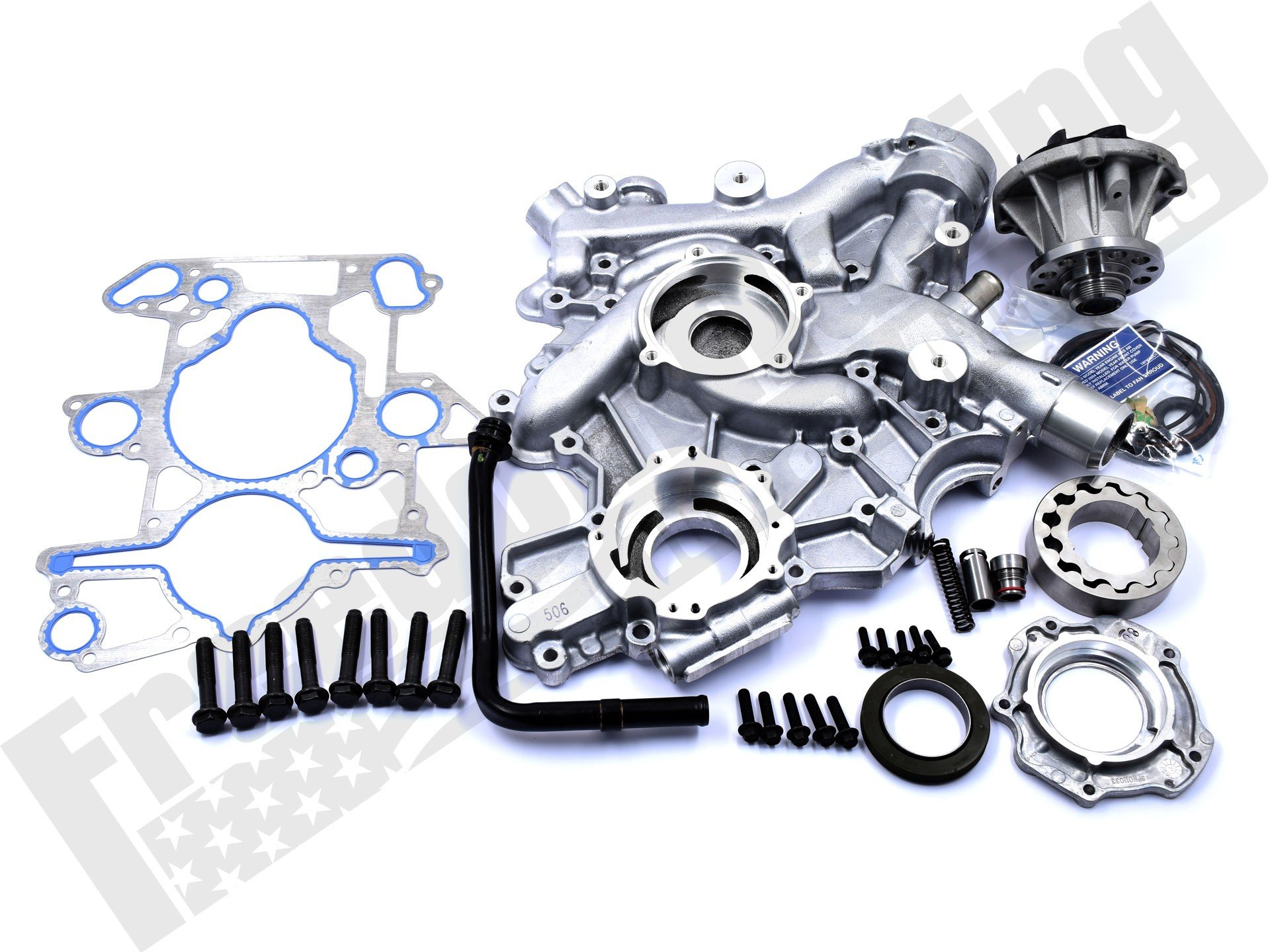 6 0l Front Cover And Low Pressure Oil Pump Kit 3c3z 6608 B