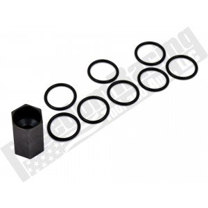 6.0L High Pressure Oil Rail Ball Tube Socket O-Ring Kit