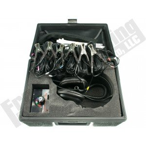 Electronic 6 Channel Chassis Ear Listening Kit J-39570