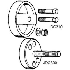 JDG300 6619 & 6531 Rear Crankshaft Wear Sleeve & Teflon Seal Installer John Deere Servicegard