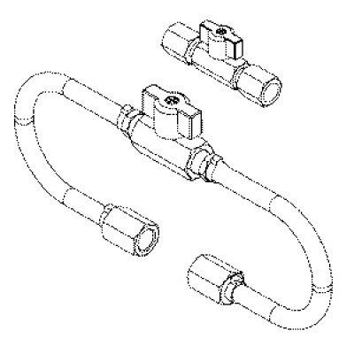 Fuel Line Shutoff Adapter Set J 42873