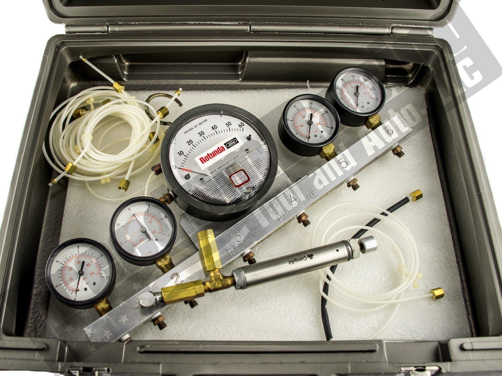 014-00761 Vacuum Pressure Test Gauge Bar