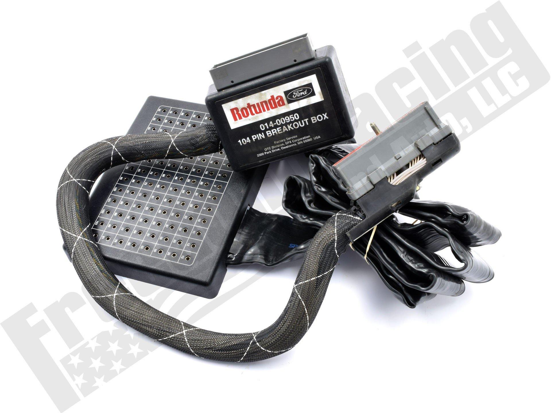 104 Pin EEC V Breakout Box 014-00950