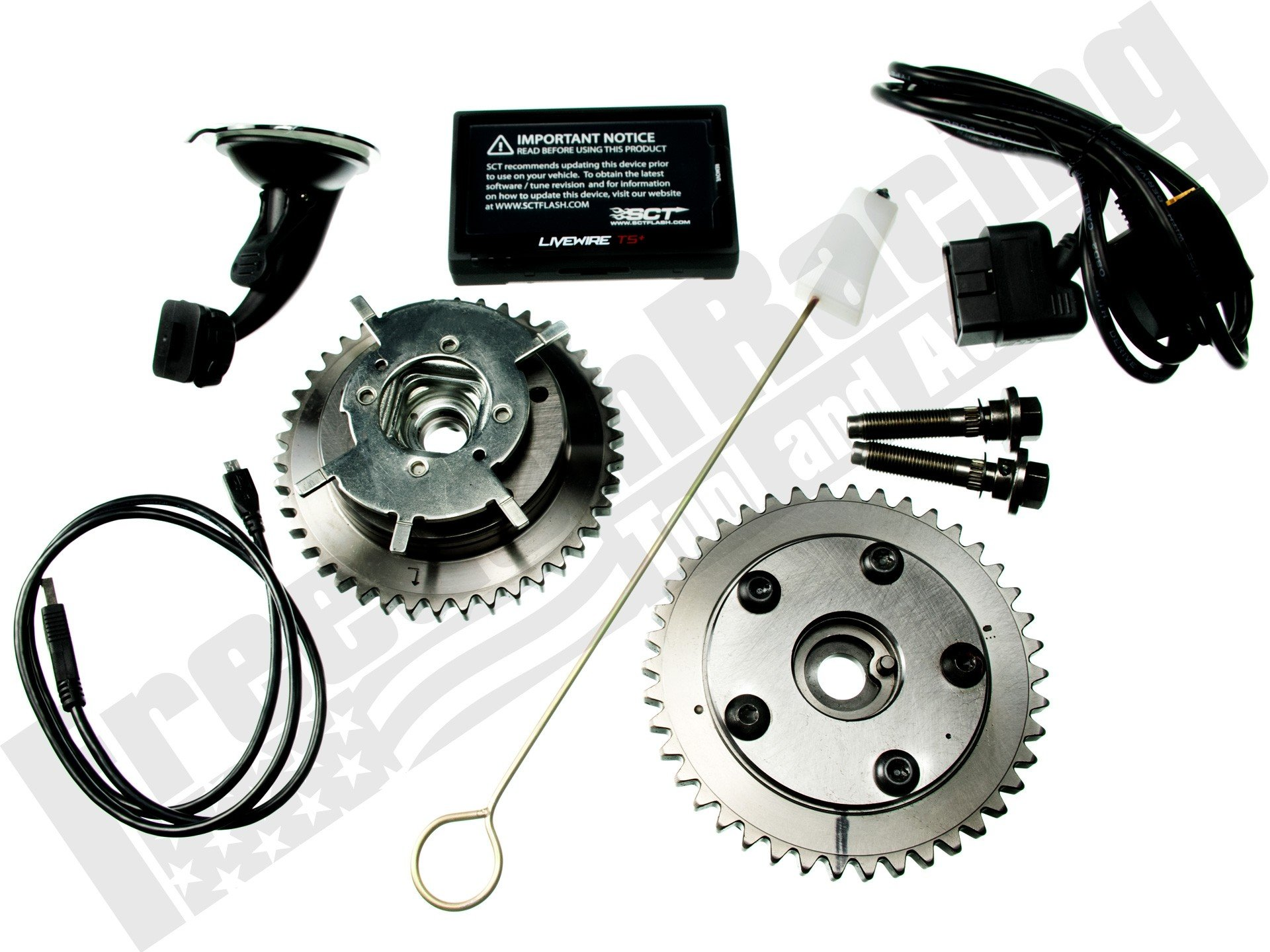 Locked Out Cam Phasers 4 6L 5 4L 3V VCT Elimination Kit w/5015 Tuner
