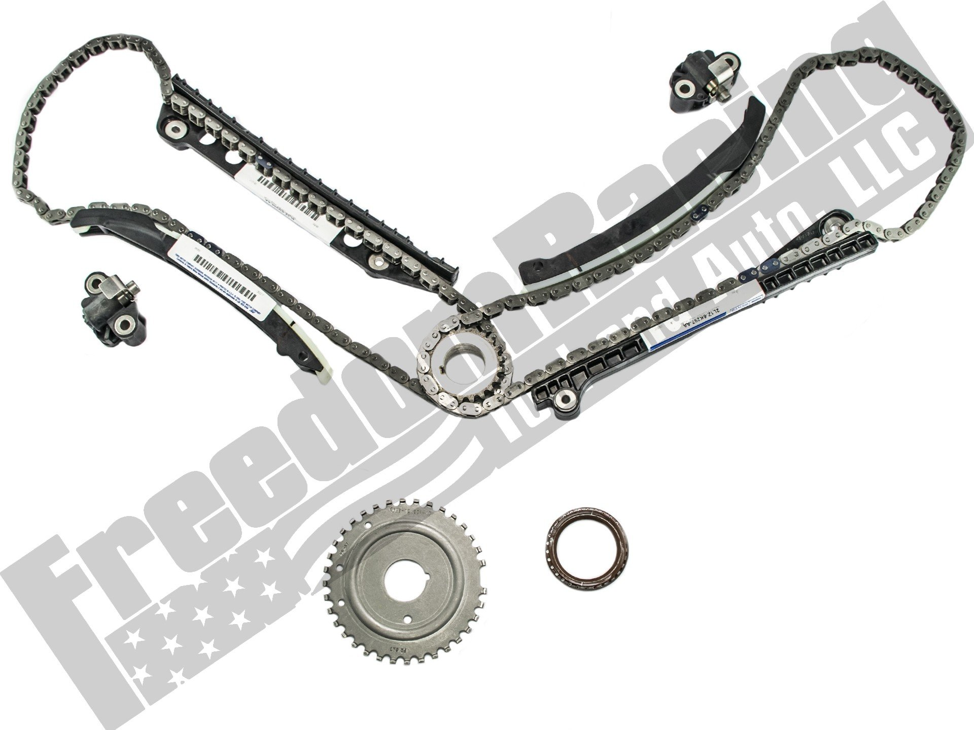 54l 3v Complete Timing Chain Replacement Kit Belt On 2003 Saab 2004 2010 Oem