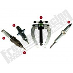 88800387-88800513-KIT Volvo FM12 Injector Nozzle-Cup-Sleeve-Tube Remover & Installer Tool Set