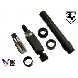 151-4832 & 221-9777 Alt 3126B In-Vehicle Fuel Injector Nozzle-Cup-Sleeve-Tube Tool Set w/USA Tap