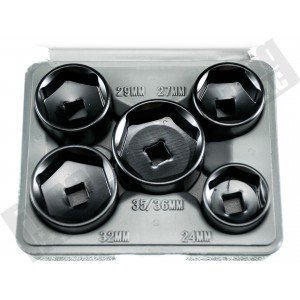13300 5 Piece Filter Socket Set