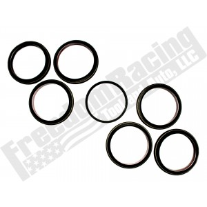 3C3Z-6701-B 6 x Rear Crank Seal and Installer Adapter Set