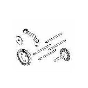 JDG974A John Deere Servicegard Front and Rear Crankshaft Seal Installation Tool
