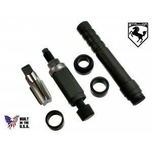 151-4832 & 221-9777 3126B In-Vehicle Fuel Injector Nozzle-Cup-Sleeve-Tube Tool Set w/USA Tap Stallion ST-S916-UT