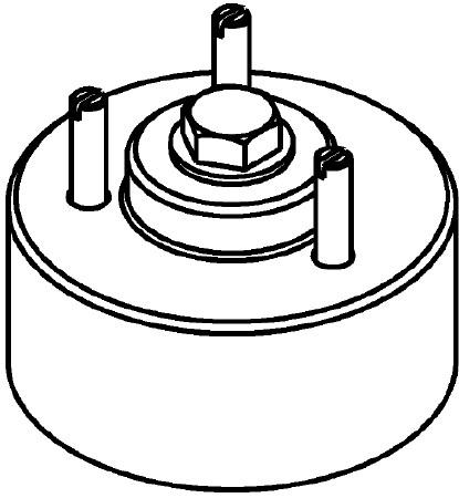 Rear Crankshaft Oil Seal Installer J-42842